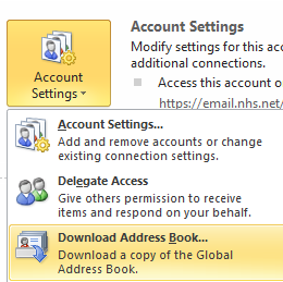 update global address book in outlook necs knowledge base